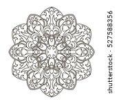 mandala. ethnic decorative...   Shutterstock .eps vector #527588356
