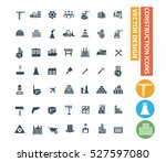 construction icons design clean ...   Shutterstock .eps vector #527597080