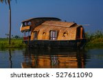 Houseboat In The Backwaters Of...
