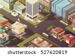 government buildings city... | Shutterstock .eps vector #527620819