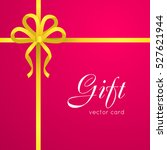 gift card vector illustration.... | Shutterstock .eps vector #527621944