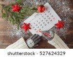 mark the date calendar for...   Shutterstock . vector #527624329