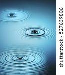 ripples in water | Shutterstock . vector #527639806