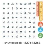 industry icon set clean vector   Shutterstock .eps vector #527643268