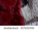 Fashion Fluffy Grey And...
