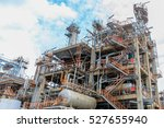 the equipment of oil refining ... | Shutterstock . vector #527655940