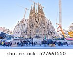 barcelona spain    november 09  ... | Shutterstock . vector #527661550