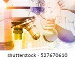 scientists and scientific... | Shutterstock . vector #527670610