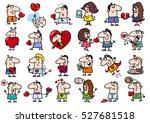 cartoon illustration of funny...   Shutterstock .eps vector #527681518