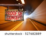 proof of concept motivational... | Shutterstock . vector #527682889