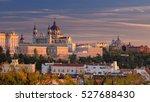 madrid. panoramic image of... | Shutterstock . vector #527688430