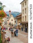 ortisei italy   september 16... | Shutterstock . vector #527697523