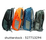 backpack colorful isolated on... | Shutterstock . vector #527713294