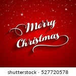 merry christmas greeting card | Shutterstock .eps vector #527720578
