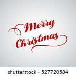 merry christmas greeting card | Shutterstock .eps vector #527720584
