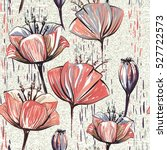 vector colorful tulips on the... | Shutterstock .eps vector #527722573