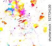 Colorful Hand Drawn Splatter...
