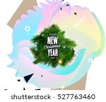 christmas design and elements... | Shutterstock .eps vector #527763460