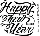 happy new year. vector... | Shutterstock .eps vector #527765698