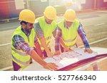 building  construction ... | Shutterstock . vector #527766340