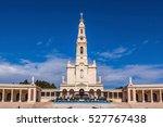 portugal. city fatima  ... | Shutterstock . vector #527767438