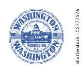 blue grunge rubber stamp with...   Shutterstock .eps vector #52777576
