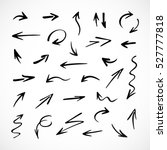 Hand Drawn Arrows  Vector Set