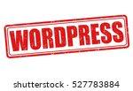 wordpress grunge rubber stamp...