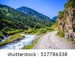 Mountain River Landscape....