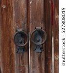 Old Fashioned Metal Door Handl...