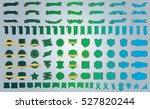 label ribbon banner green... | Shutterstock .eps vector #527820244