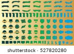 label ribbon banner green... | Shutterstock .eps vector #527820280
