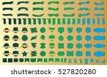 label ribbon banner green... | Shutterstock .eps vector #527820280