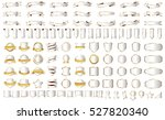 label ribbon banner silver... | Shutterstock .eps vector #527820340