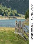 Small photo of Lake of Livigno, Livigno, Community mountain Alta Valtellina, Sondrio, Lombardy, Italy