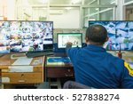 industry security system.  ... | Shutterstock . vector #527838274