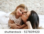 mother and daughter enjoy in... | Shutterstock . vector #527839420