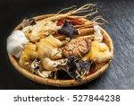 chinese medicine ingredients... | Shutterstock . vector #527844238