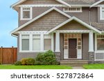 a perfect neighborhood. houses... | Shutterstock . vector #527872864