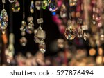 Costume Jewelry  Hanging In A...