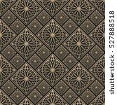 seamless pattern oriental... | Shutterstock .eps vector #527888518