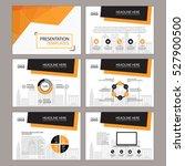 business template design set...   Shutterstock .eps vector #527900500