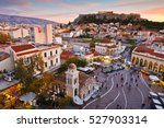 athens  greece   december 01 ... | Shutterstock . vector #527903314
