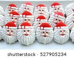 christmas cookie  in the shape... | Shutterstock . vector #527905234