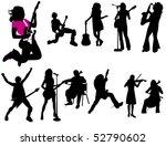 musicians | Shutterstock .eps vector #52790602