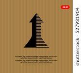 arrow icon   vector | Shutterstock .eps vector #527931904