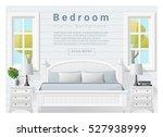 interior design bedroom...   Shutterstock .eps vector #527938999