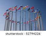 Europe Countries Flags Arranged ...