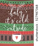 "christmas card ""baby its cold... 