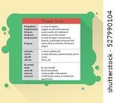 phrasal verbs. english grammar. ...   Shutterstock .eps vector #527990104